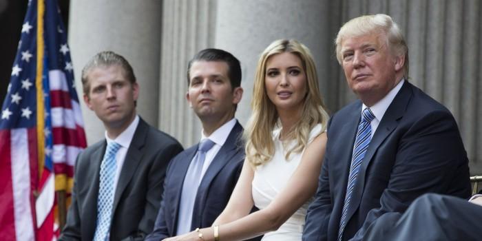 Сын Трампа признал роль Иванки в решении атаковать Сирию