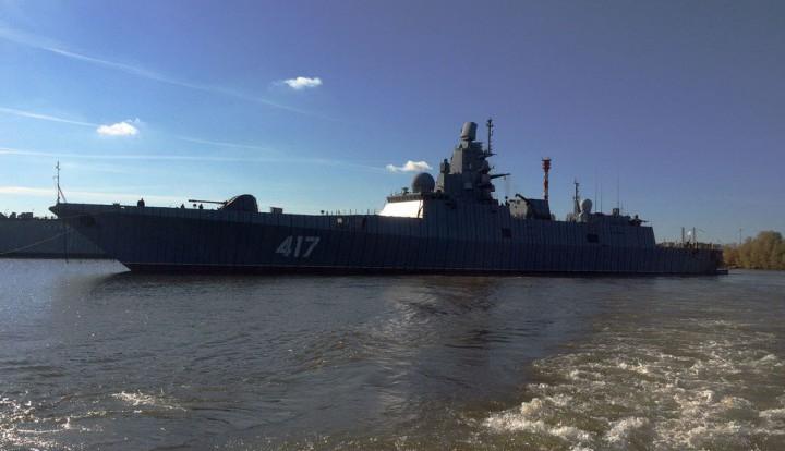 Новый российский боевой корабль дальней морской зоны готов к испытаниям