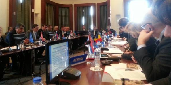 Украинская делегация устроила демарш из-за председательства России в ОЧЭС