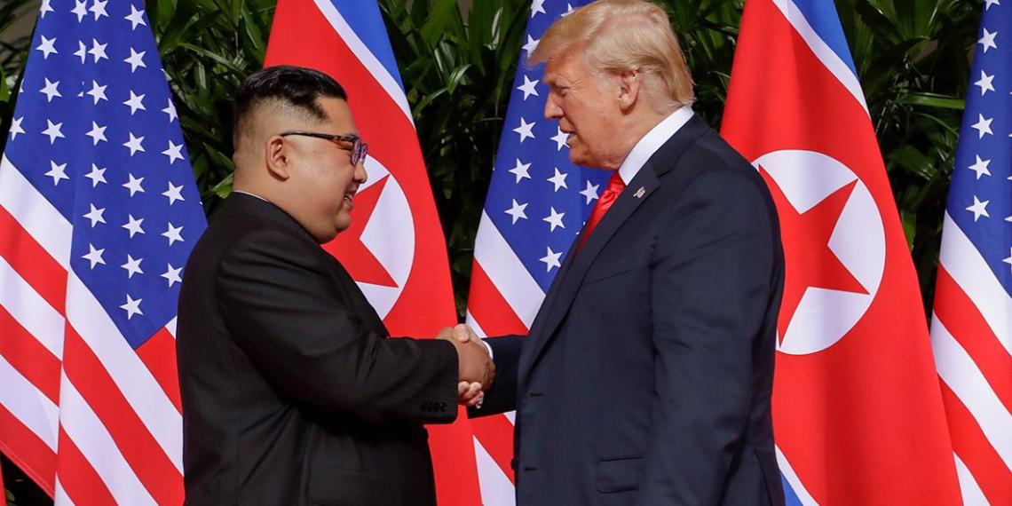 Стало известно, о чем договорились Трамп и Ким Чен Ын