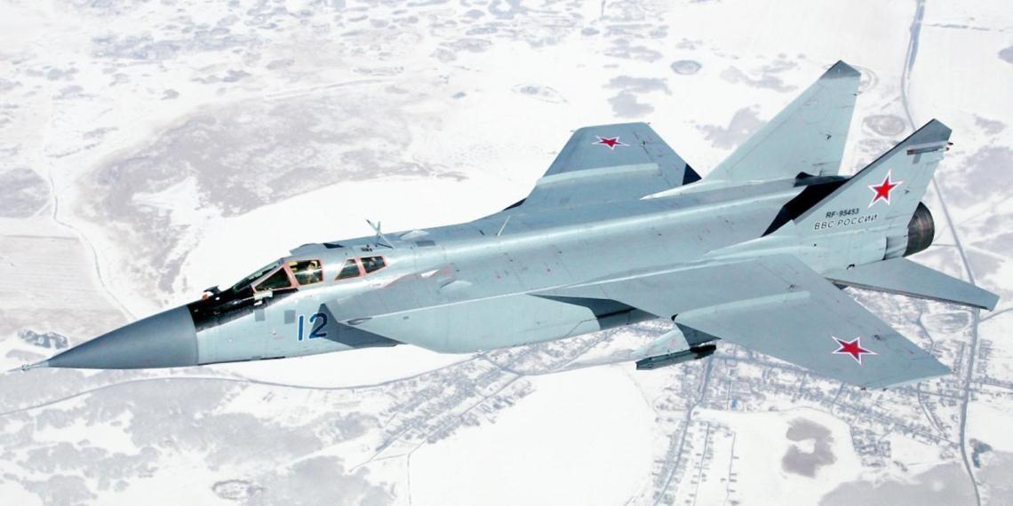 Перехватчик МиГ-31 научится отражать атаки баллистическими ракетами