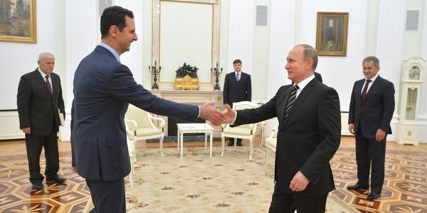 Асад провел переговоры с Путиным в Москве