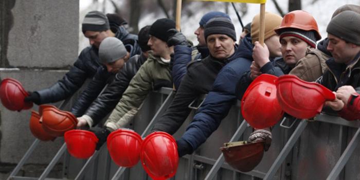 Бунтующих шахтеров с Западной Украины призвали в армию