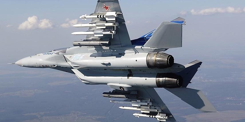 Опубликовано видео вертикального взлета МиГ-35 на форсаже