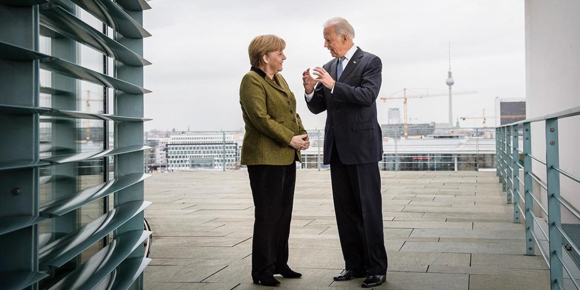 Handelsblatt: Меркель отправится в Вашингтон договариваться по Северному потоку  2
