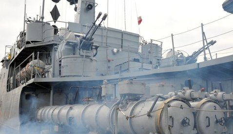 Польские военные корабли столкнулись в ходе учений в Балтийском море