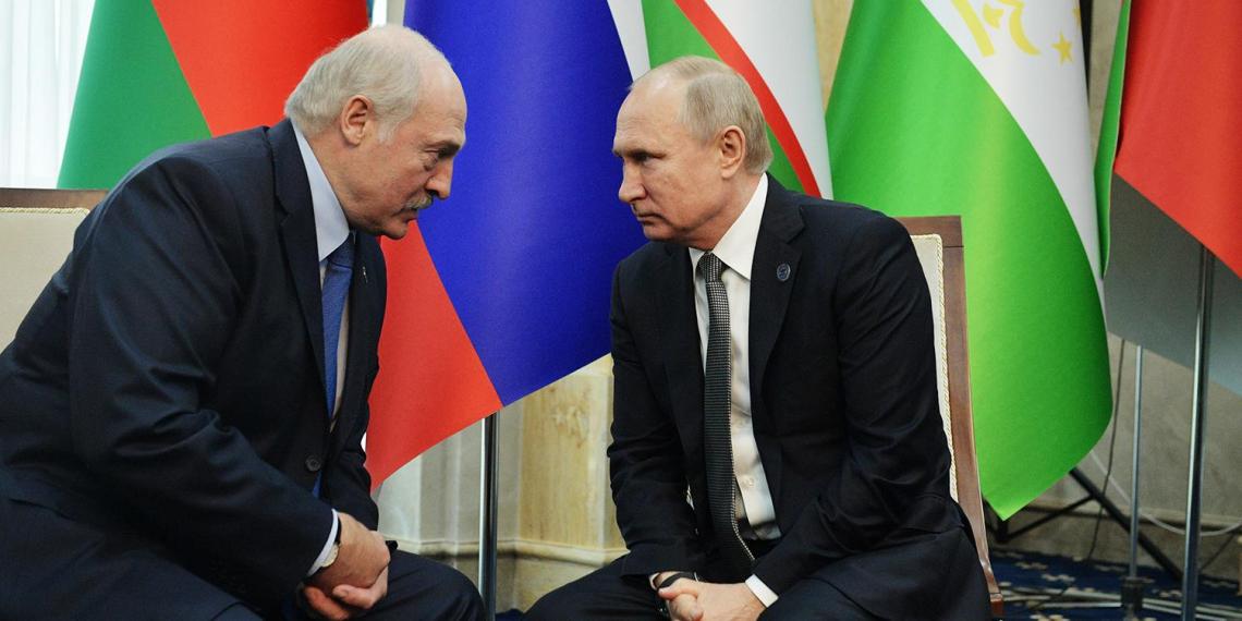 Путин ответил Лукашенко по поводу цен на газ