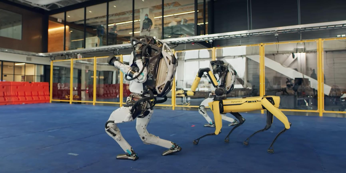 Boston Dynamics показала танцующих человекоподобных роботов