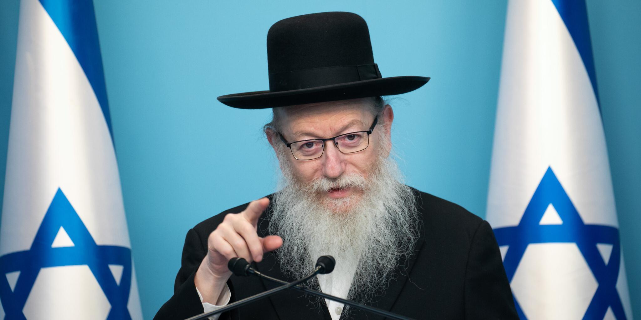 Назвавший коронавирус божьей карой за гомосексуализм израильский министр заразился сам