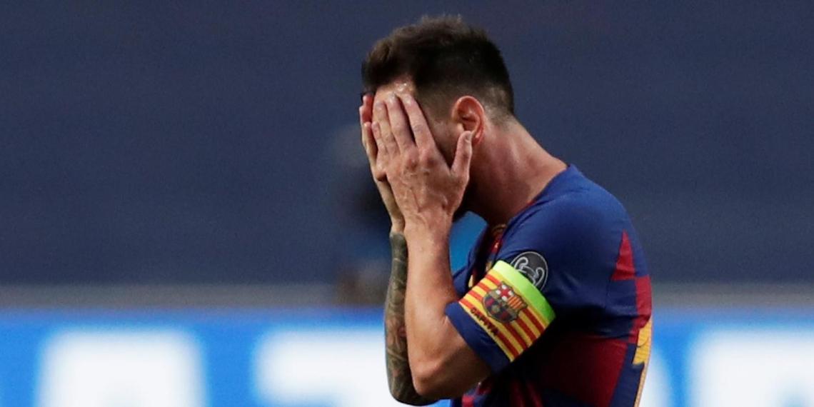 """""""Барселона"""" решила наказать Месси"""
