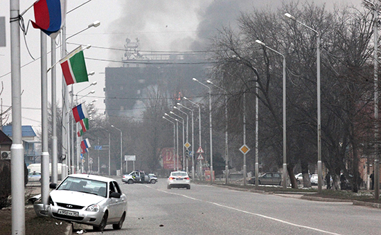 Грозный: Семеро боевиков уничтожены, спецоперация продолжается
