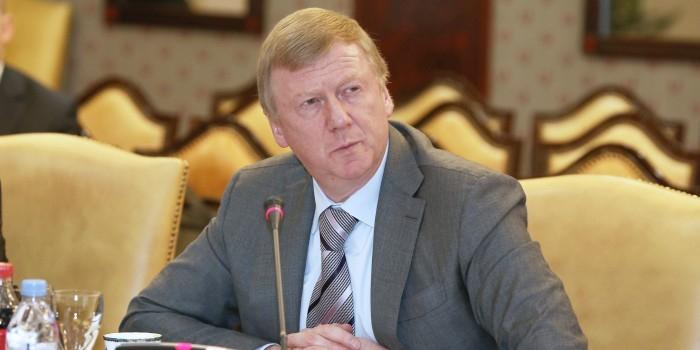 Чубайс попросил 89 млрд рублей из Фонда национального благосостояния