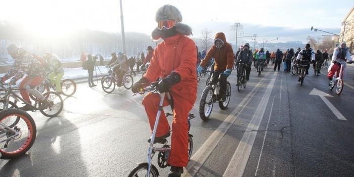 Организатор велопарада при -30 объяснил, почему его решили не отменять