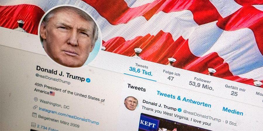 Twitter заблокировал аккаунт Дональда Трампа навсегда