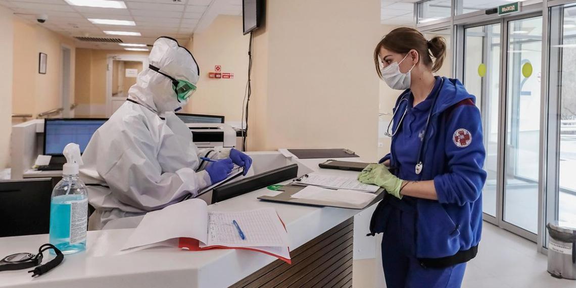 В России выявили 10 102 новых случая коронавируса