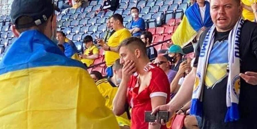 Напавшего на российского болельщика украинца задержали за побои и ограбление