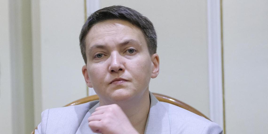 """Савченко назвала """"неплохой вариант"""" для Украины в свете риска полной потери суверенитета"""