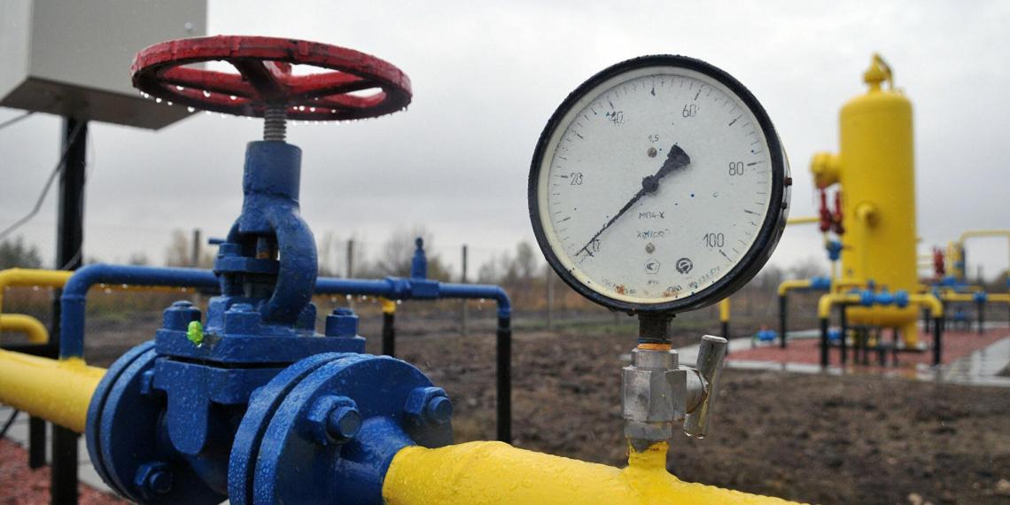 На Украине серьезные проблемы с запасами газа
