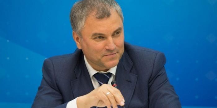 """Володин на встрече с политологами: """"Единая Россия"""" показывает лучшие результаты, чем в 2011 году"""