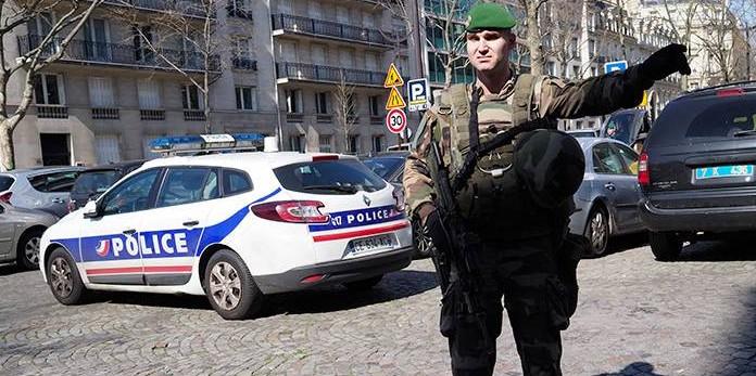 В парижском офисе МВФ произошел взрыв