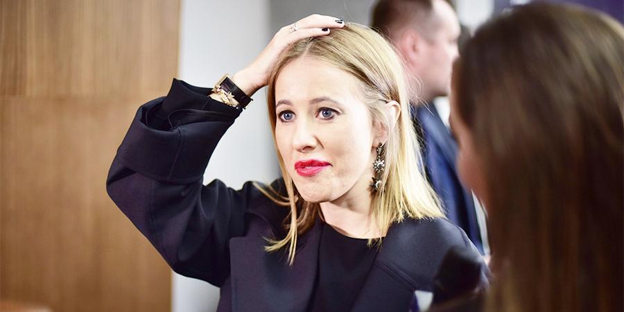 СМИ: с Собчак разорвали контракт из-за ее шутки над детской историей Костюшкина