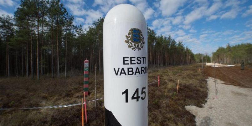 Эстония отгораживается от России забором в 2,5 метра