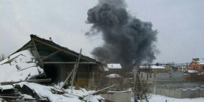 В Донецке взорвался химический завод
