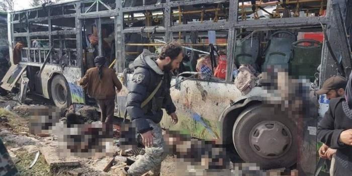 В Алеппо смертник взорвал автобусы с беженцами: десятки погибших