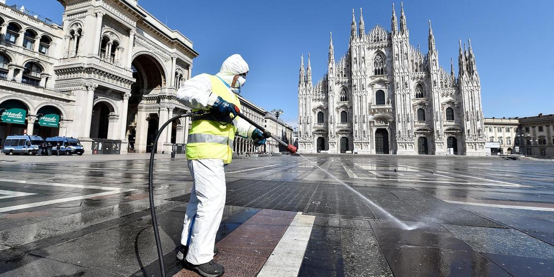 В Италии объявлен локдаун на Рождество и Новый год