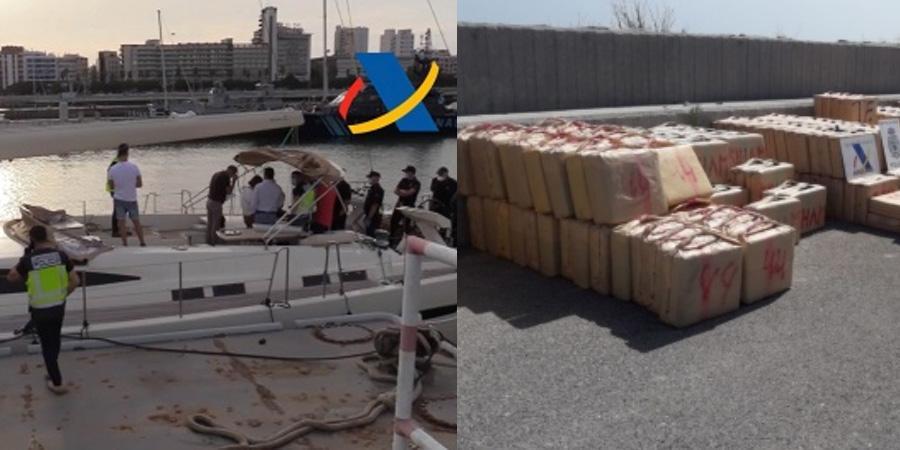 В Испании задержали россиян за перевозку 35 тонн гашиша на элитных яхтах