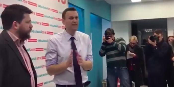"""Навальный назвал журналистов """"проститутками"""" из-за неудобного вопроса"""