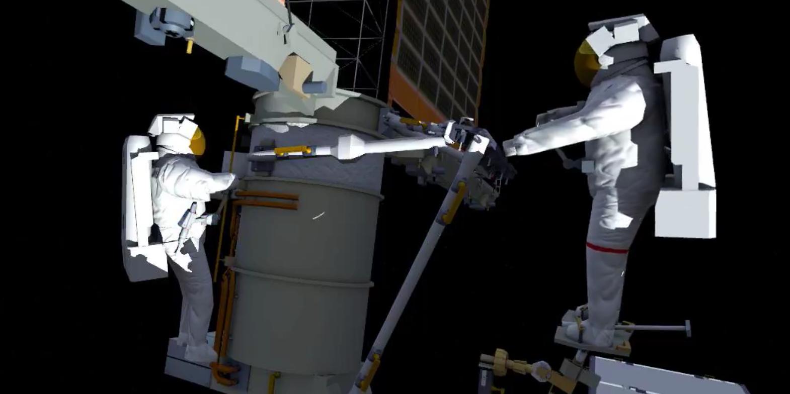 NASA показало, чем занимаются астронавты МКС в открытом космосе