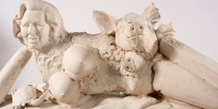 Британцам покажут голую Маргарет Тэтчер со свиньями