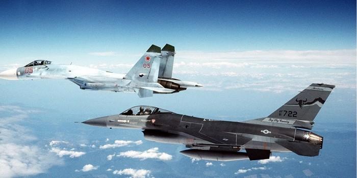 В Пентагоне рассказали о перехвате истребителем РФ самолета США над Сирией