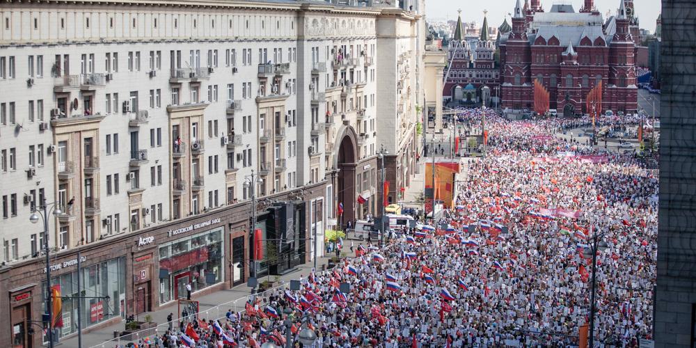 """В столичном шествии """"Бессмертного полка"""" примут участие более 1 млн человек"""