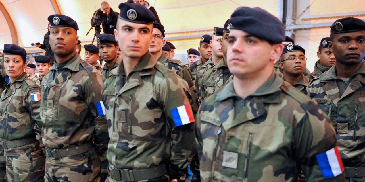 Французского офицера подозревают в шпионаже в пользу России