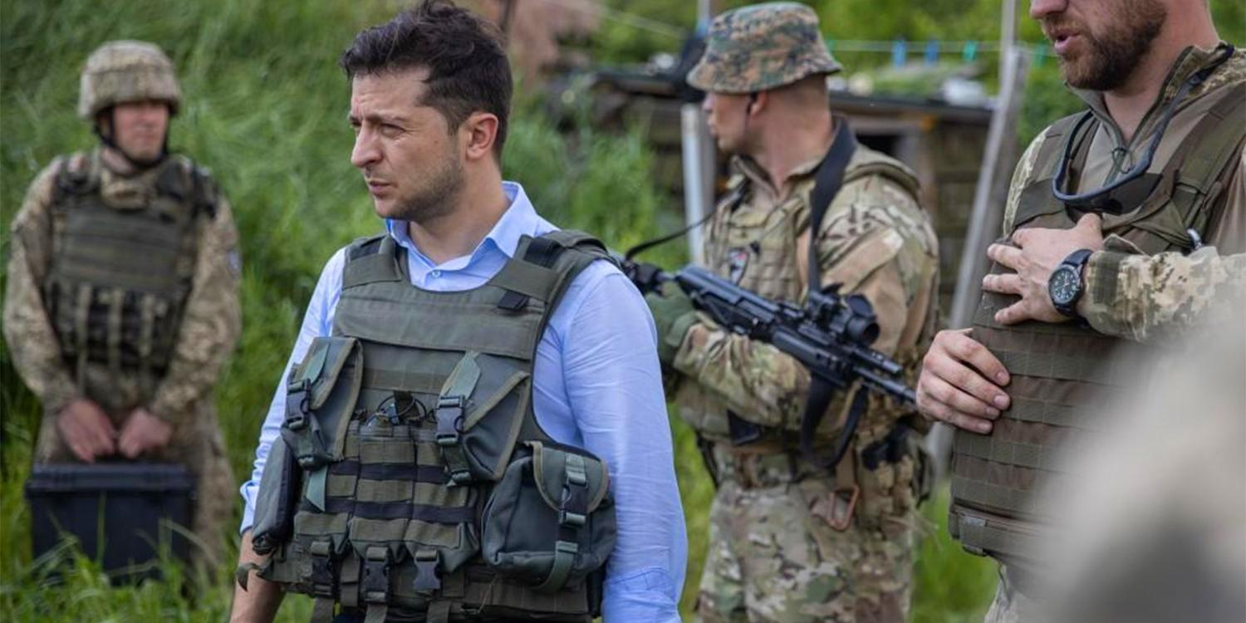 Зеленский заявил о готовности уйти в отставку из-за Донбасса