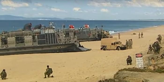 Морпехи НАТО не смогли высадиться на берегу Португалии