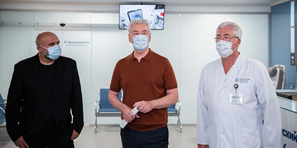 Собянин открыл центр эндоскопии в Боткинской больнице