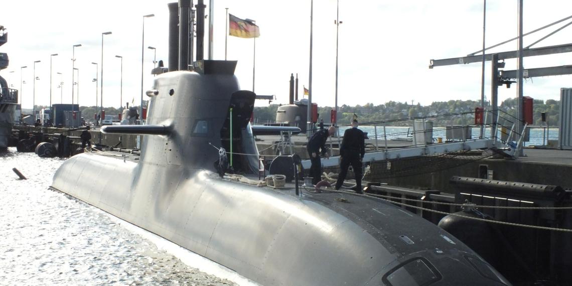 На немецких подлодках нашли российскую аппаратуру
