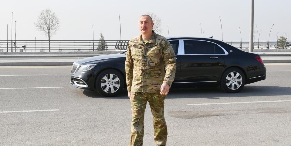 """Алиев: Баку ждет ответа, откуда Ереван получил ракеты """"Искандер-М"""""""
