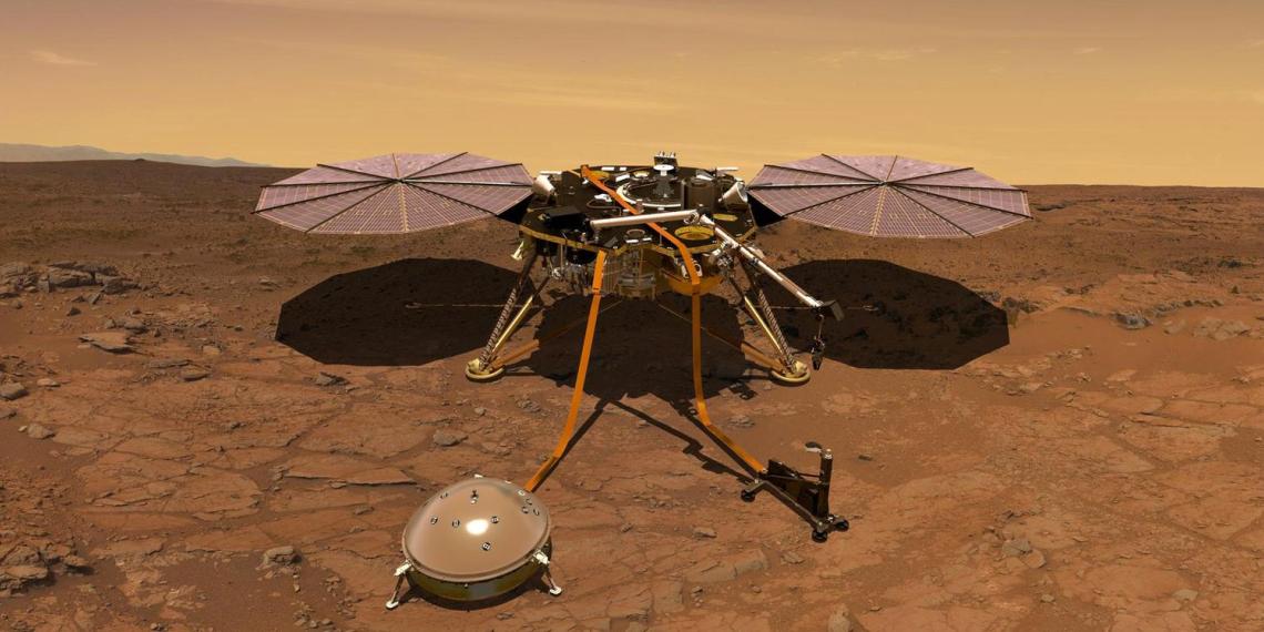 """Китайский зонд """"Тяньвэнь-1"""" успешно вышел на орбиту Марса"""