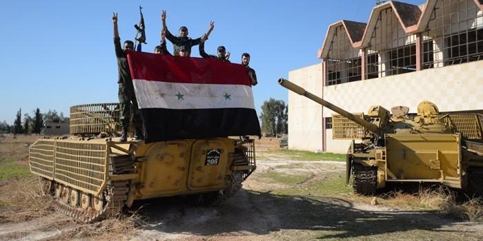 Сирийская армия освободила один из ключевых районов Алеппо