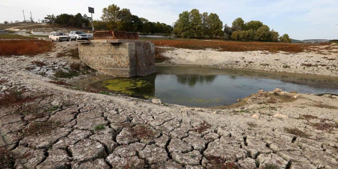 Названы сроки исчерпания запасов воды в Крыму