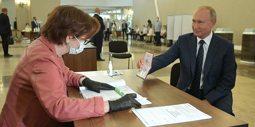 Явка на голосовании по поправкам в Москве превысила 53%