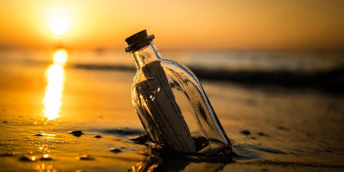Брошенное в реку Рейн 7 лет назад письмо в бутылке нашлось в Новой Зеландии