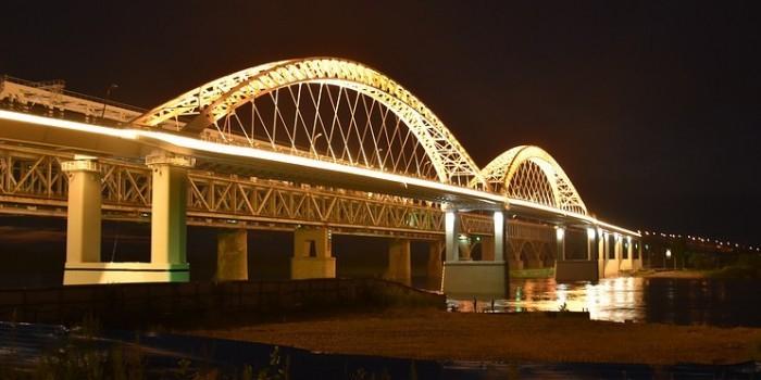 """В Нижнем Новгороде открылся дублер Борского моста, построенный на деньги от """"Платона"""""""