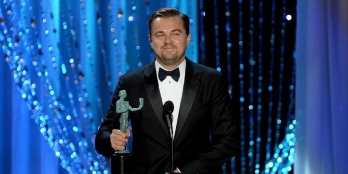 Леонардо Ди Каприо впервые получил премию Гильдии киноактеров CША