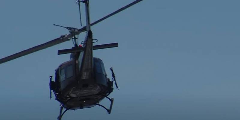 На Синае разбился военный вертолет США, есть погибшие