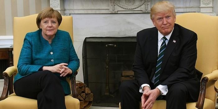 Трамп сообщил о разногласиях с Меркель